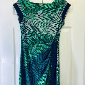 Taylor Green Side Tie Dress